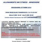 Corso NW Fitness Ottobre