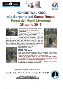 Sorgente Sasso Rosso 25 aprile