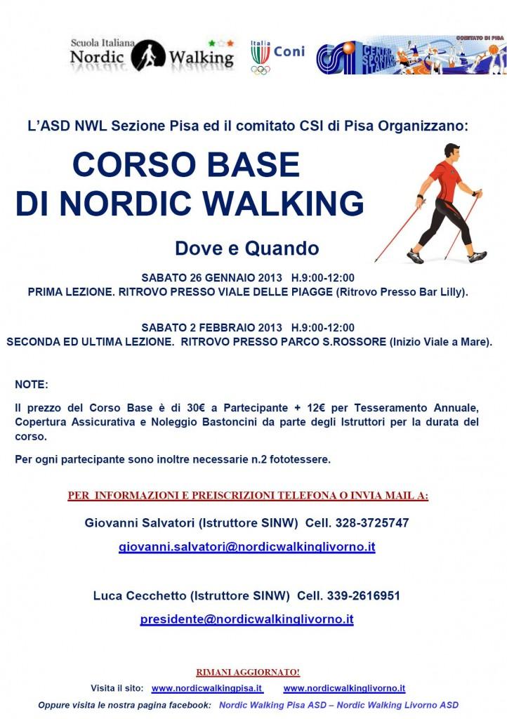 Corso Base Gennaio Pisa